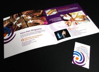 Plaquette et carte de visite (PME)