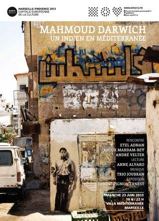 Hommage à Mahmoud Darwich ©Patrick Bédrines (2013)