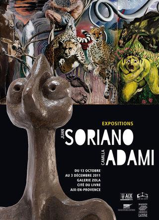 Exposition Juan Soriano / Camilla Adami ©Patrick Bédrines (2011)