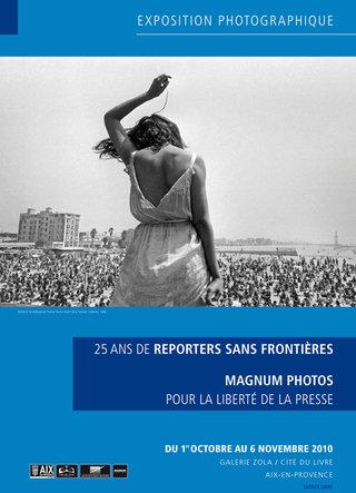 Exposition Reporters sans frontières ©Patrick Bédrines (2010)