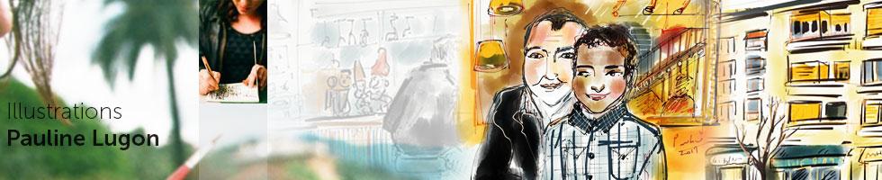 Pauline Lugon Illustrations & peinture : Ultra-book