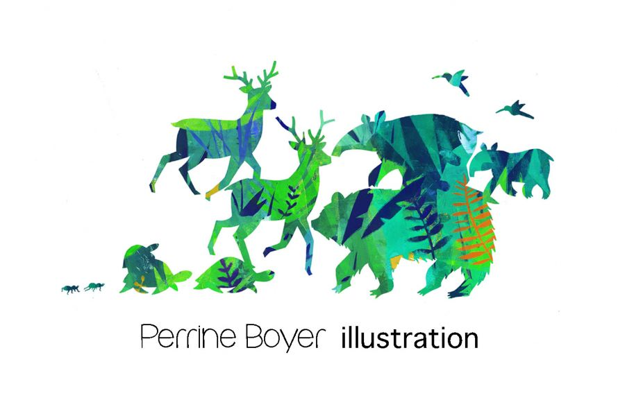 Perrine Boyer illustration jeunesse