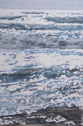 Mer de printemps mistral