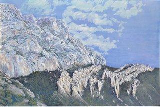 Foule de pierre à la Sainte Victoire