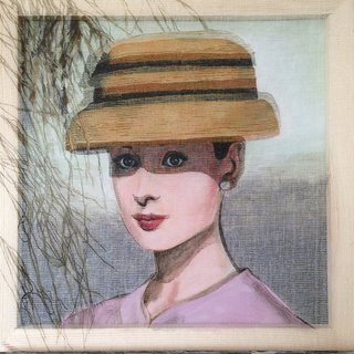 Audrey et son chapeau