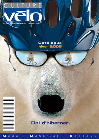 Culture vélo - Couverture catalogue produits hiver