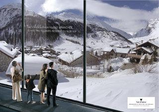 Val d'isère - Annonce presse - double page
