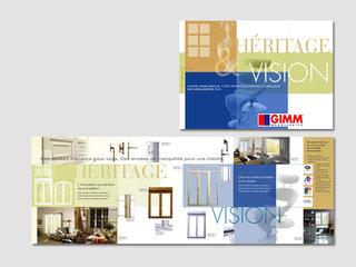 Gimm - Plaquette produit - fenêtres PVC