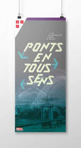 Les Ponts en Haute-Savoie - Poster exposition