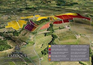 Vignoble du Château Laroque (Saint-Emilion)