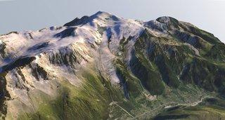 Modélisation 3D du Massif du Mont-Blanc