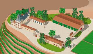 Bâtiments du Château de Pressac (Saint-Emilion)