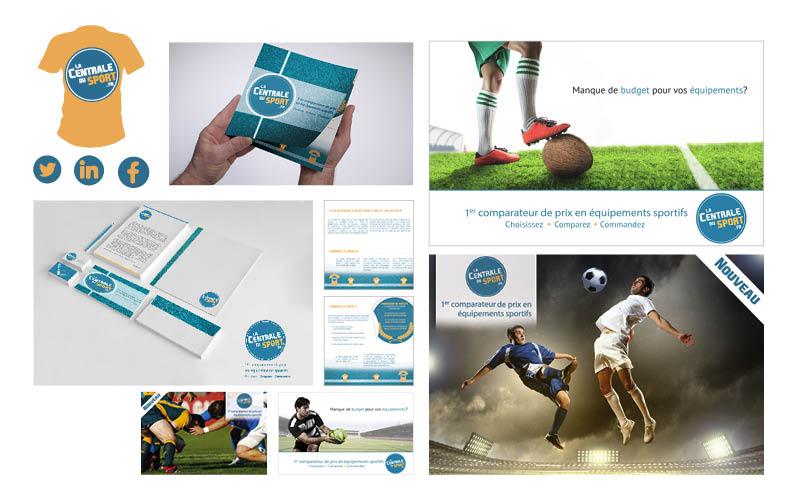 La Centrale Du Sport<br/><span>Plaquette pour BtoB.</span>