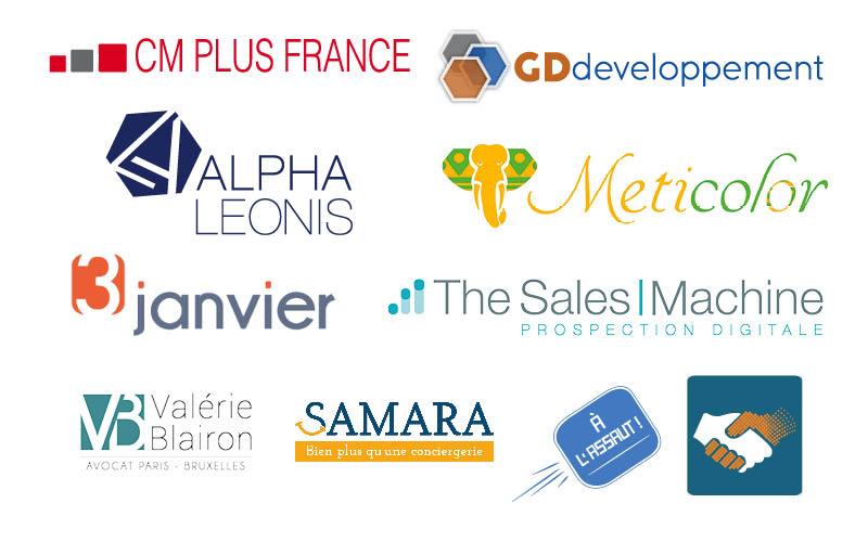 Logos que nous avons créés<br/><span></span>