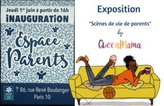 Exposition d'illustrations CAF de Paris