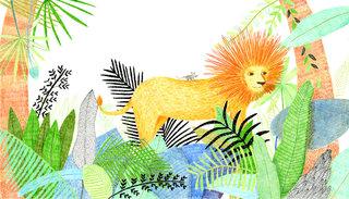 Projet d'album - Le lion et la toute petite souris