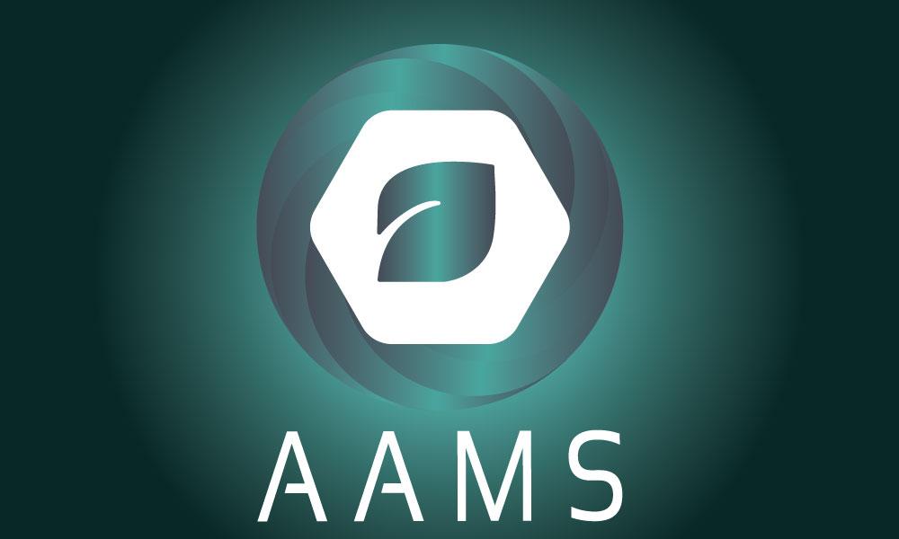 Logo AAMS by roxane chanpao graphic designer