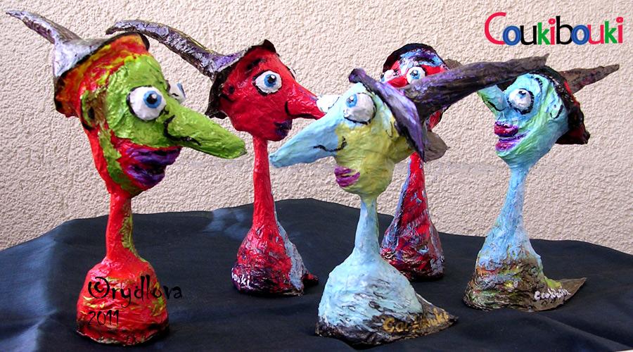 lucie rydlova     sculptures en papier m u00e2ch u00e9