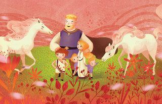 The Children of Lir -Storytime magazine-