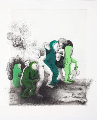 Floraison des hommes grenouilles 2011