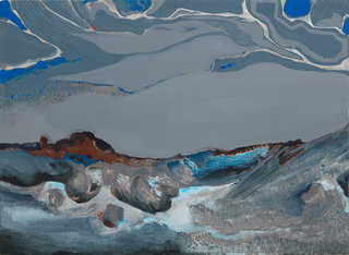 Grains de soleil pour rivière gelée 2016