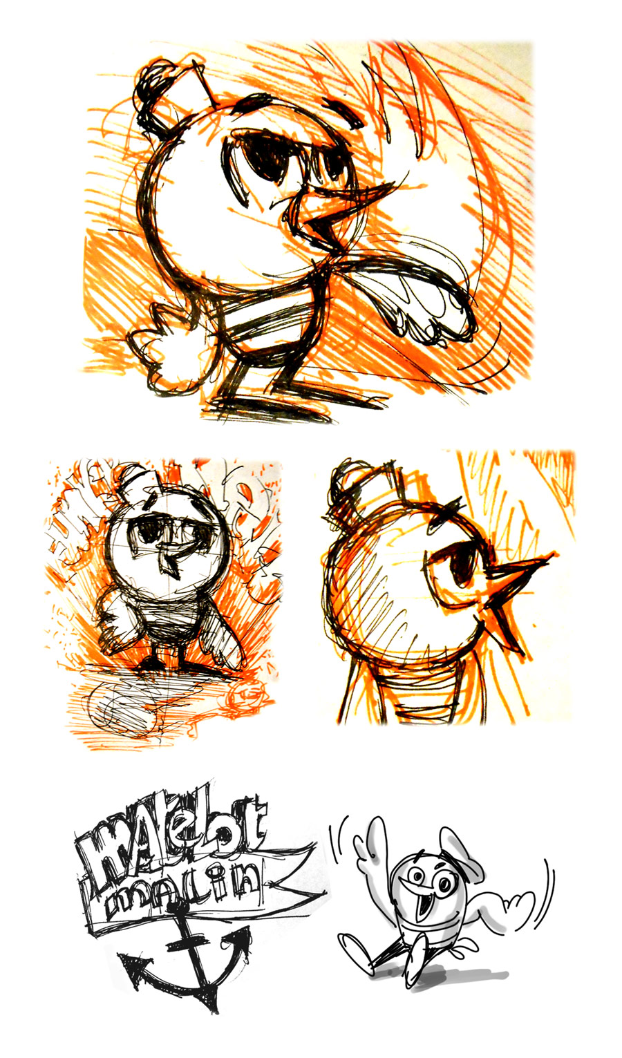 Creative Character Design Book : Sander kuhn portfolio character design