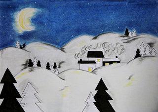 Conte de Noël - La nuit