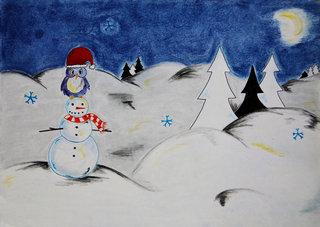 Conte de Noël - Le bonhomme de Neige