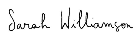 Sarah Williamson Portfolio :