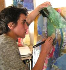 Sarah SIMON - Peintre Plasticienne