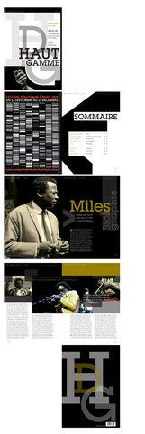 Brochure Miles Davis