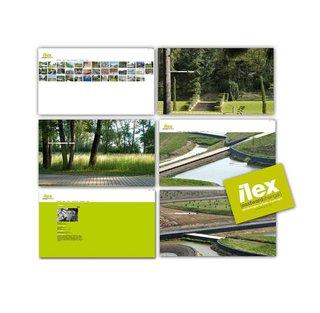 DESIGN GRAPHIQUE  pour ILEX paysagistes/urbanistes