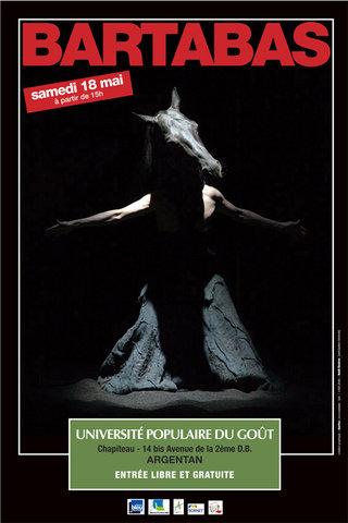 DESIGN GRAPHIQUE  pour Michel ONFRAY > Université Populaire du goût