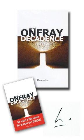 DESIGN GRAPHIQUE  / D.A. pour Michel ONFRAY : DECADENCE