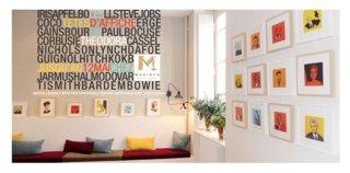 """Mon exposition """" TETES D'AFFICHE """" chez MAPIECE"""