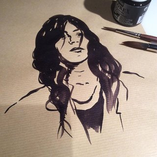PORTRAIT ENCRE / Patti SMITH