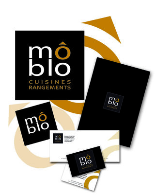 "DESIGN GRAPHIQUE  / IDENTITE VISUELLE : M""BLO"