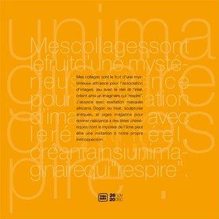 """extrait du book de l'exposition """"Madame rêve"""""""