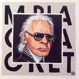 M. BLACK JACKET / Karl Lagerfeld