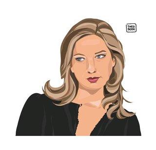 TÊTES DE LETTRE / Olivia de Lamberterie