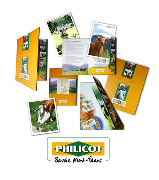 DESIGN GRAPHIQUE pour PHILICOT Nutrition Animale
