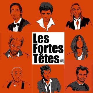 ILLUSTRATIONS > Série LES FORTES TÊTES