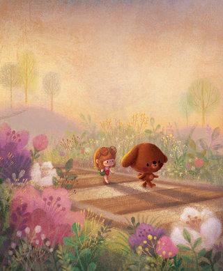 L'ours et la poupée, Père castor Flammarion