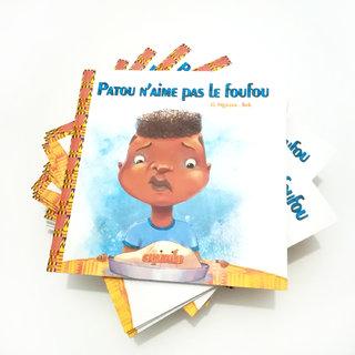 """album : """"Patou n'aime pas le foufou"""""""