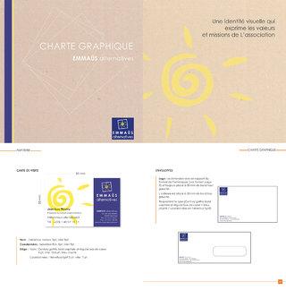 Charte graphique  Emmaüs Alternatives