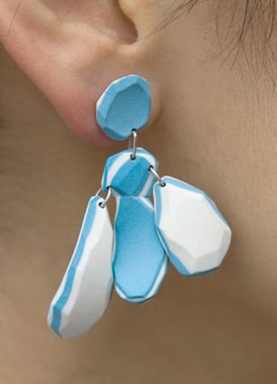 Girandole (bleu-blanc)