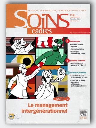 Illustration numérique, couverture revue