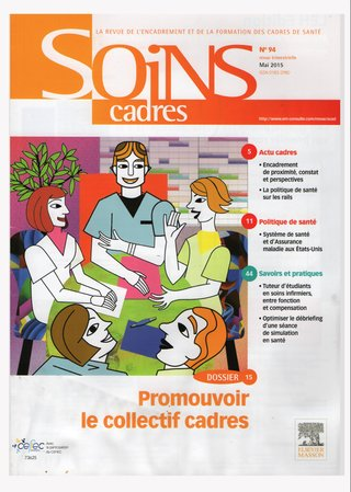Illustration couverture magazine