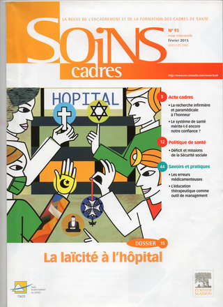 Illustration couverture magazine