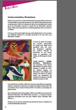 "Exposition ""Contes animaliers"" au MIJ"